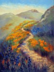 Facing Soberanes Canyon, o/c, 18x24