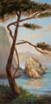 Graceful Pine, Afternoon Light ~ Point Lobos, 12x24