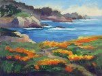 Point Lobos Spring ~ o/c, 9x12 Sold ~ Prints Available (click here)