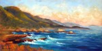 Point Lobos Sunset, 12x24 o/c ~ Prints Available (click here)