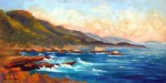 Point Lobos Sunset, o/c, 12x24