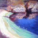 Soulful Sanctuary, o/c, 30x30 ~ PRINTS AVAILABLE (click here)