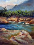 Whalers Cove ~ o/c, 12x16~ Prints Available (click here)