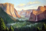 Yosemite Valley, o/c, 24x36  ~  Prints Available