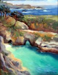 China Cove Afternoon, o/c, 11x14 Sold ~ Prints Available (click here)Email artist about this piece