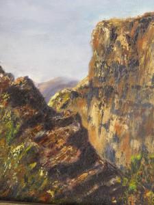 Taos Cliffs, Oil ~ Gerri Bradford
